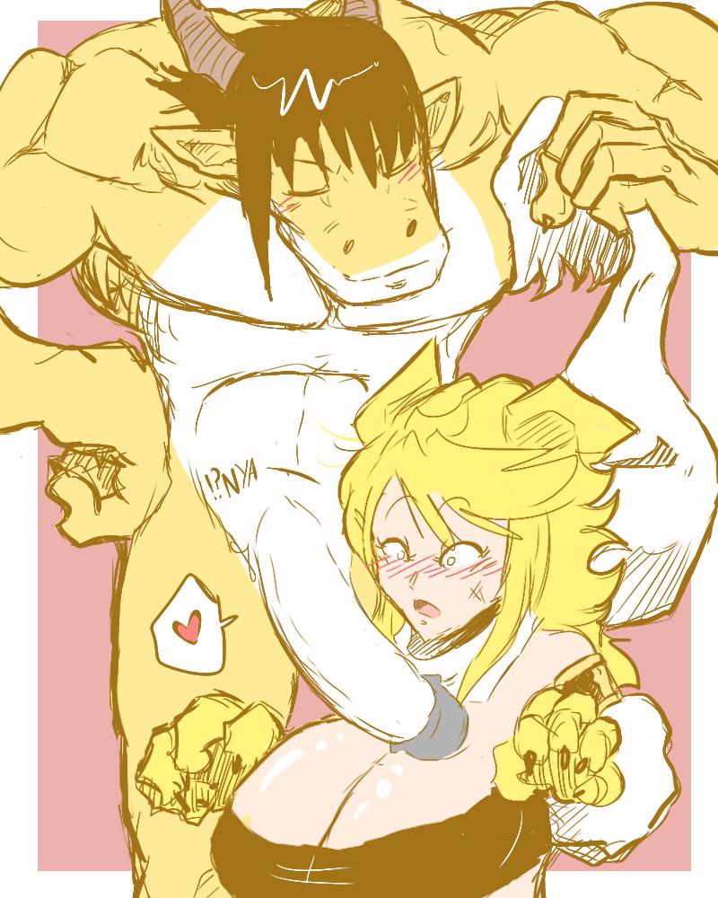 akame naked leone kill ga Miss kobayashi's dragon maid ilulu