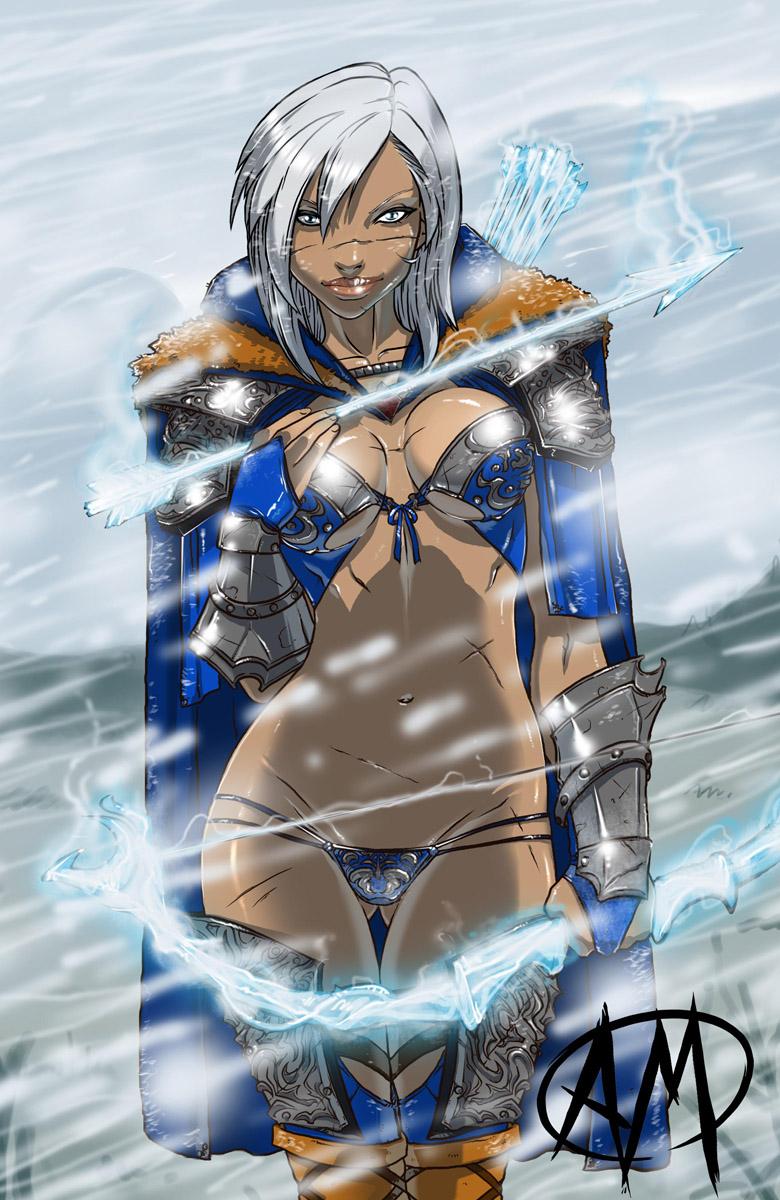 evil of league super voltar Akroma angel of fury art