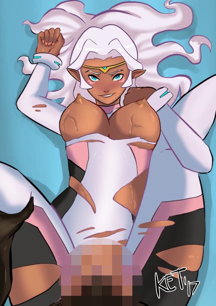 allura defender voltron princess legendary Guy cums in dogs mouth