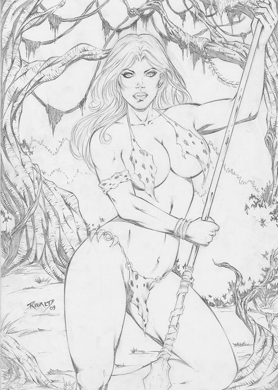 nude shanna devil the she Naruto x fem juubi fanfiction