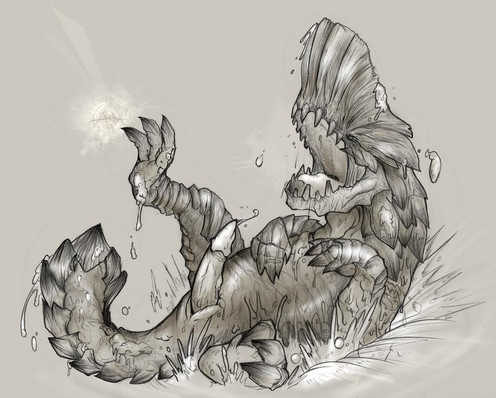 monster world hunter pukei-pukei Croc legend of the gobbos steam