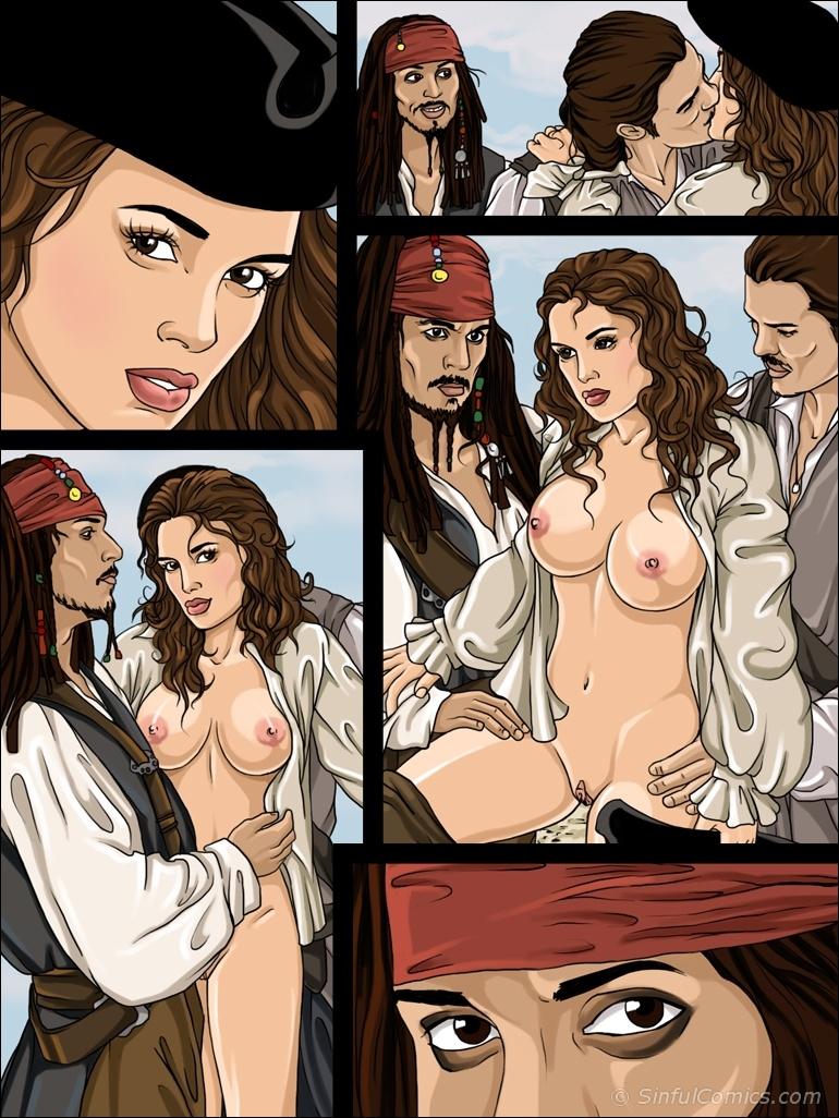 the pirates bosun of caribbean 2 guys 1 girl xxx