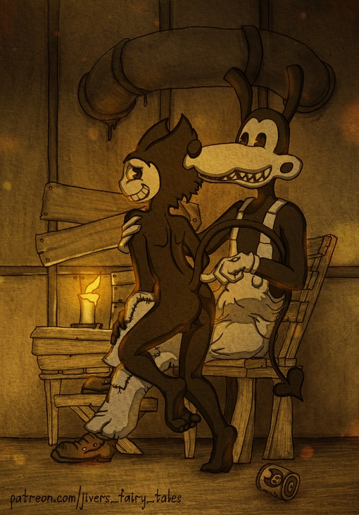 machine and ink bendy the edgar Alpha and omega