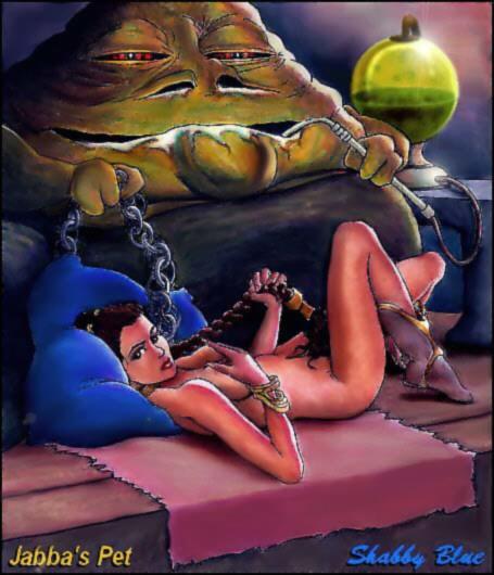 return slip the wars jedi of star nipple Five nights at anime 5