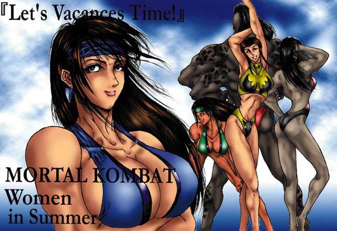 universe mortal kombat catwoman vs.dc Hajime no ippo