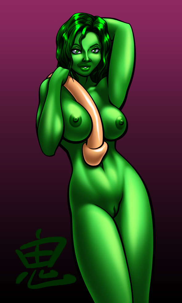 she-hulk and spiderman My little pony big butt