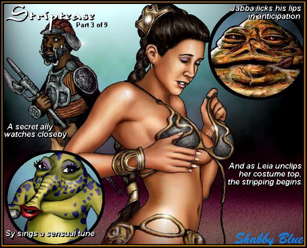 slip jedi the of return star wars nipple Ren & stimpy adult party cartoon