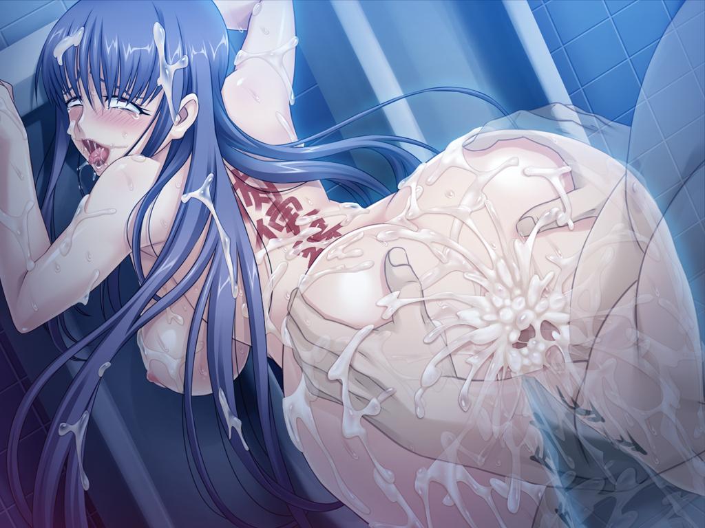 netorare to saeko-san ore to mail Anime girl light blue hair