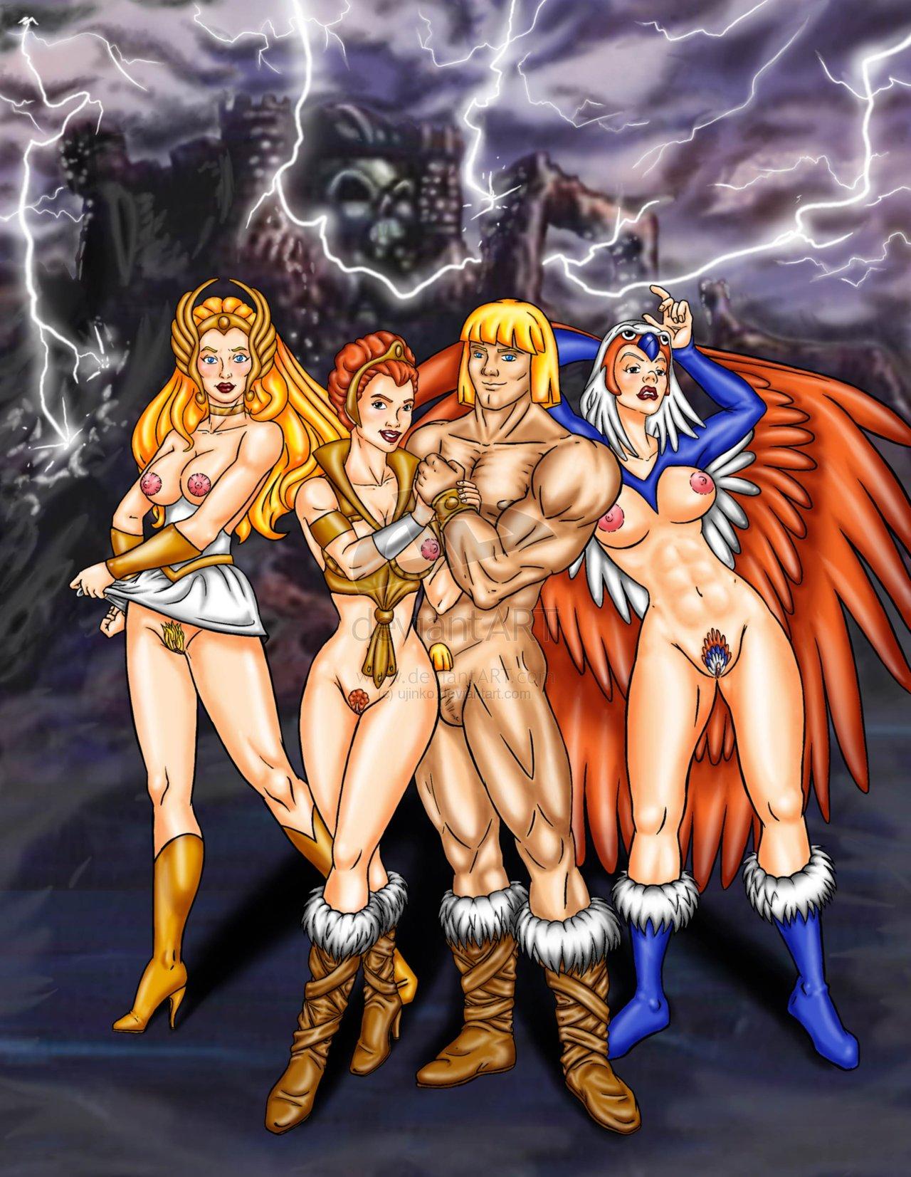of gem amethyst world - princess Wonder woman x power girl