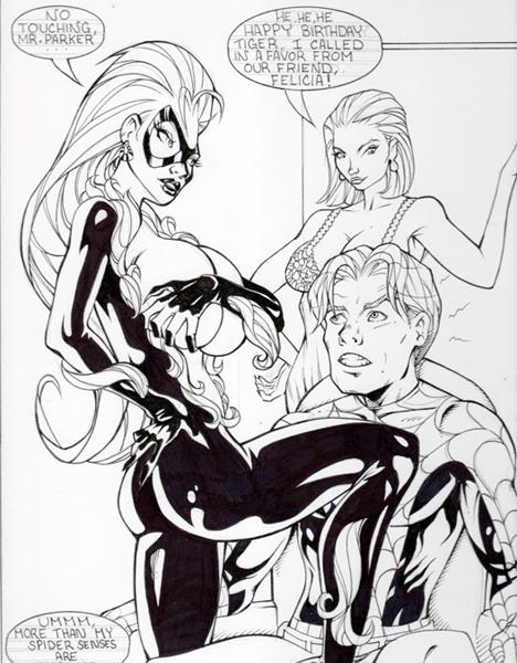 web cat spider black symbiote shadows man of Ed edd n eddy nazz
