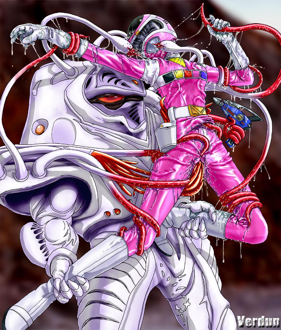 power dino rangers thunder kira Tomb raider lara with horse