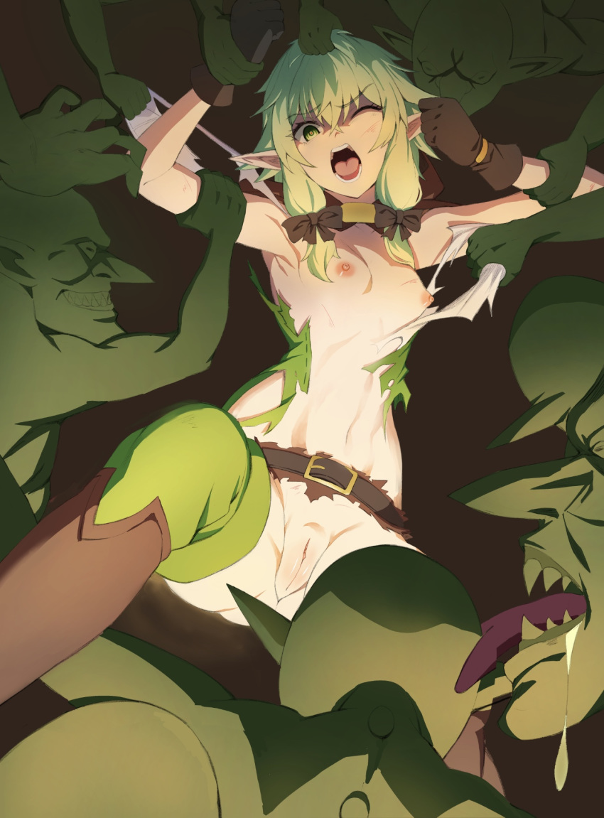 elf high archer rape slayer goblin Dragon ball super cus hentai