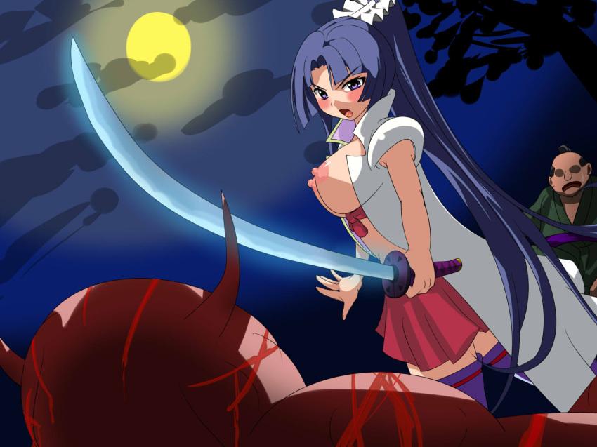 to ookami-san shichinin Marvel vs capcom shadow lady