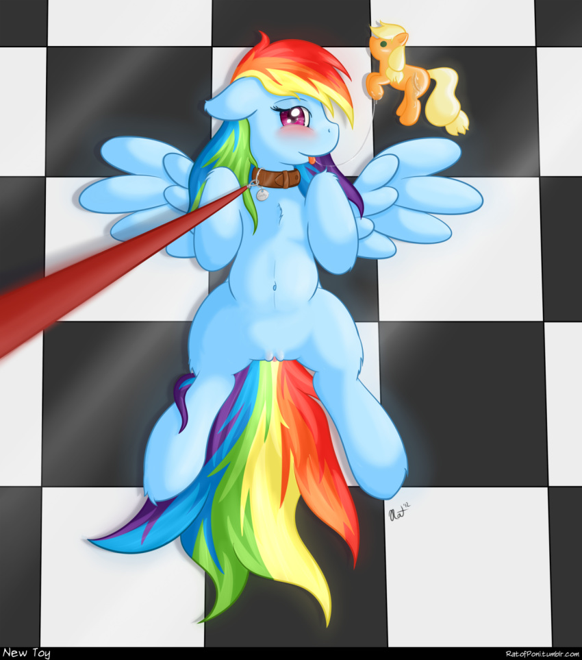 applejack rainbow human and dash The puppet from five nights at freddy's