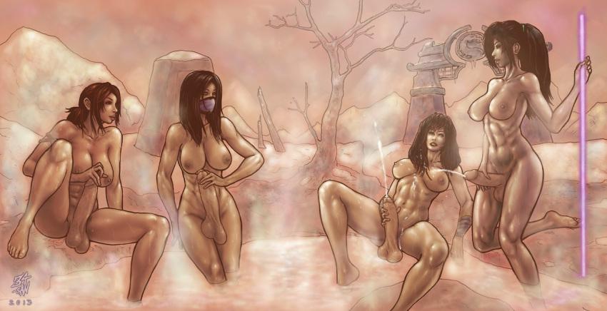 kombat mortal porn gif mileena Super smash bros girls naked
