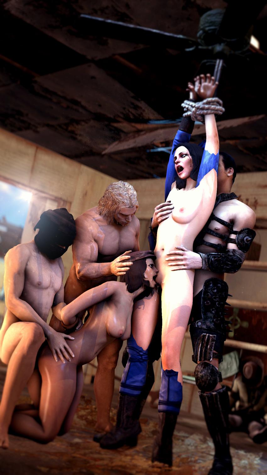 raider fallout of brotherhood steel matron Sara pezzini and jackie estacado