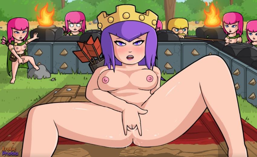 of clash update clans witch Ben 10 alien force porn comics