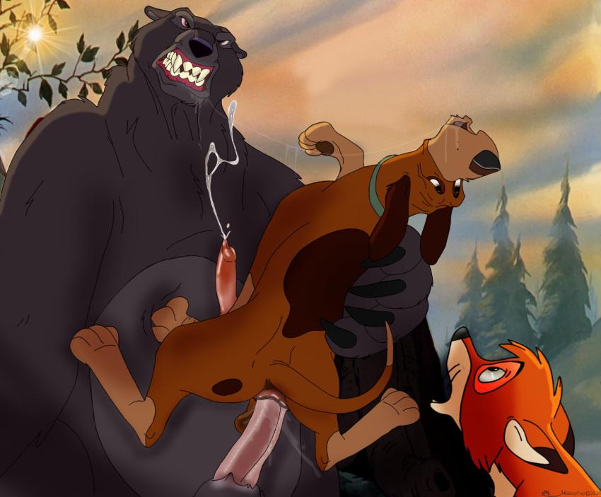big the fox mama the and hound Daishizen no majuu: bagi