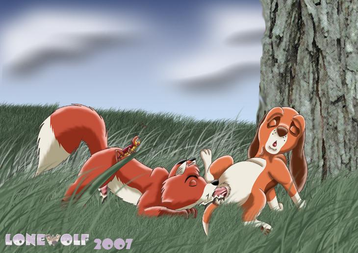 the hentai the hound fox and Angela family guy