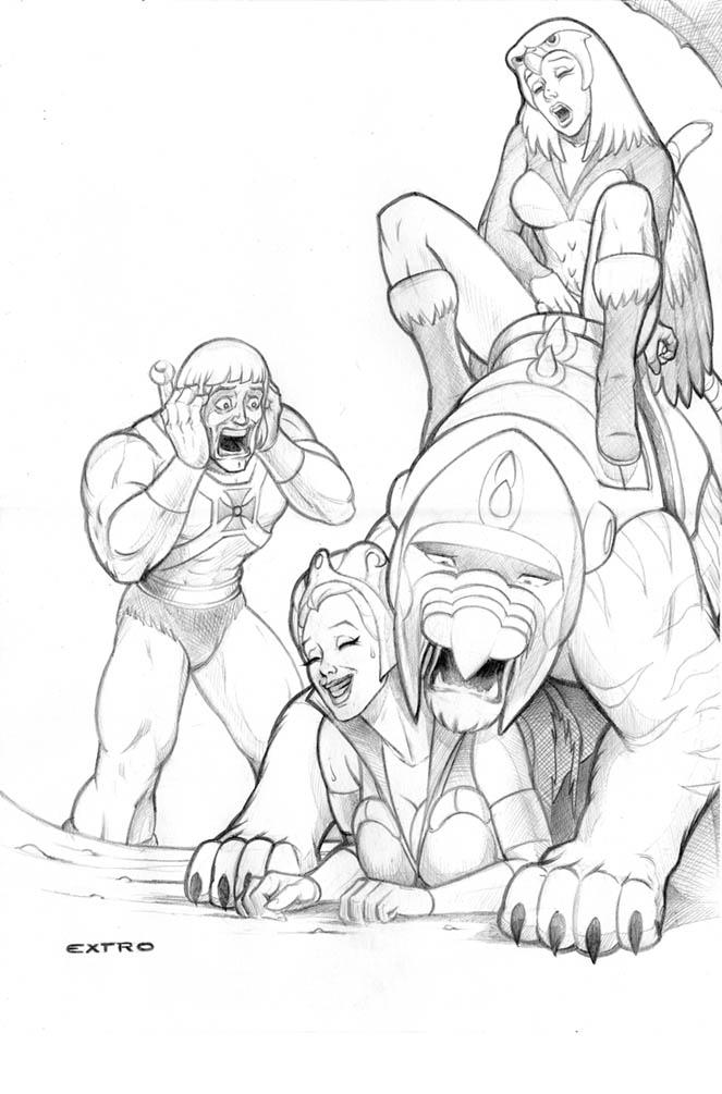 elementals of blade the dance Shen this is a christian webcomic