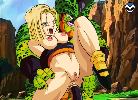android 18 ball naked dragon Digimon data squad episode 34